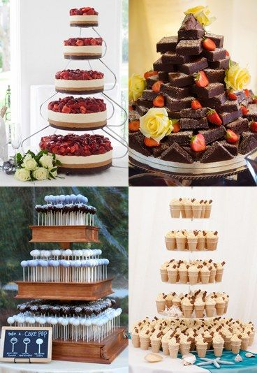 20 amazing alternative wedding cake ideas - It's no longer OK to just roll out just any old cake at your wedding. Oh no, these days wedding cakes are as important as the venue, food and - dare we say it - even the dress....