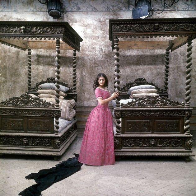 Claudia Cardinale as Angelica in The Leopard (Luchino Visconti, 1963) set in 19th century Sicily