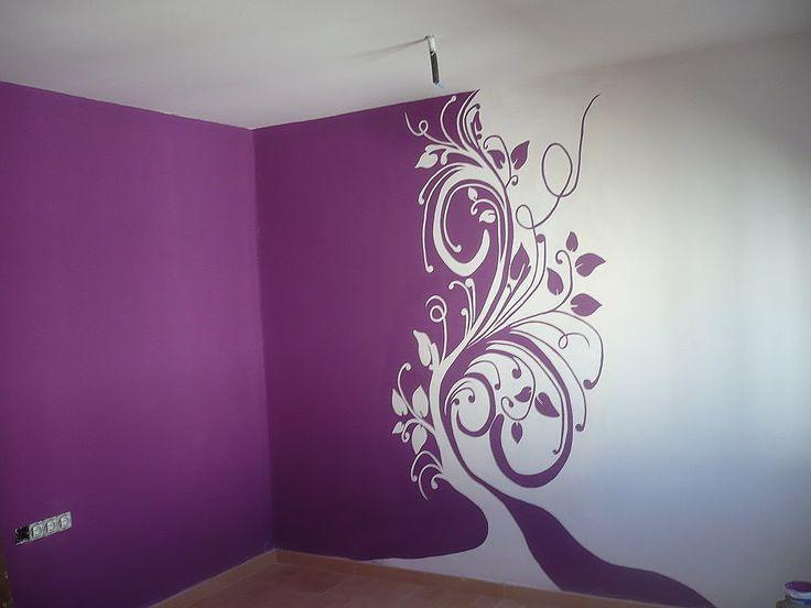M s de 1000 ideas sobre dibujos para paredes en pinterest - Paredes con dibujos ...