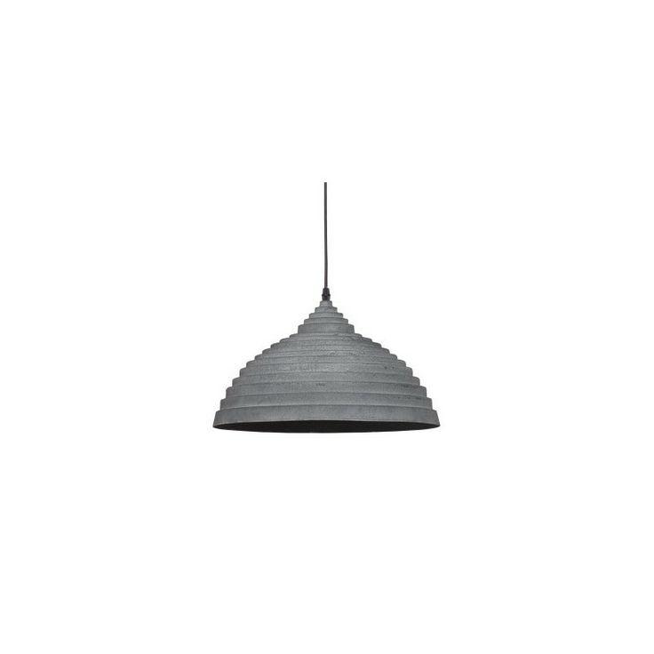 Lampa ta jest przykładem tego, że industrialny styl ciągle ma się dobrze. No i dobrze :-)