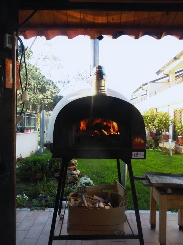 """www.zio-ciro.com The biggest woodburning oven in the world.... """"Subito Cotto"""" by Zio Ciro (Ready to Cook) It's our jewel!!!"""