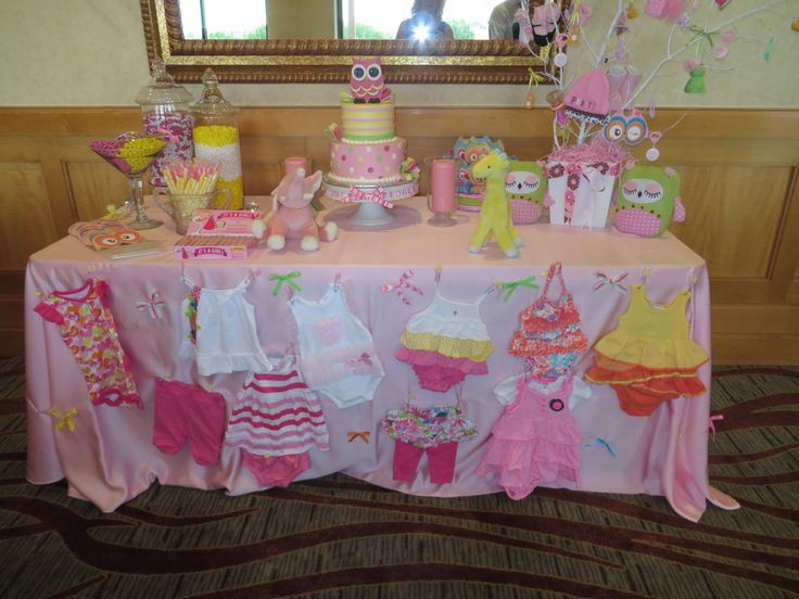 Baby Shower Cake Table Sorepointrecords