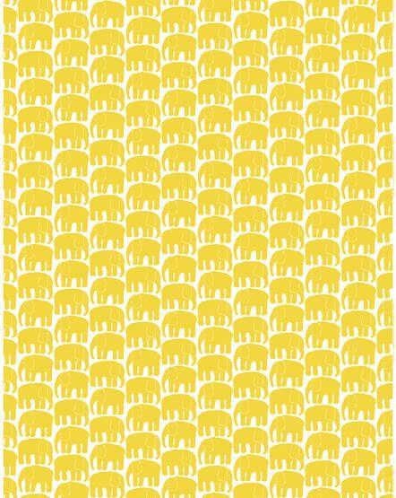 Finlayson Elefantti print fabric