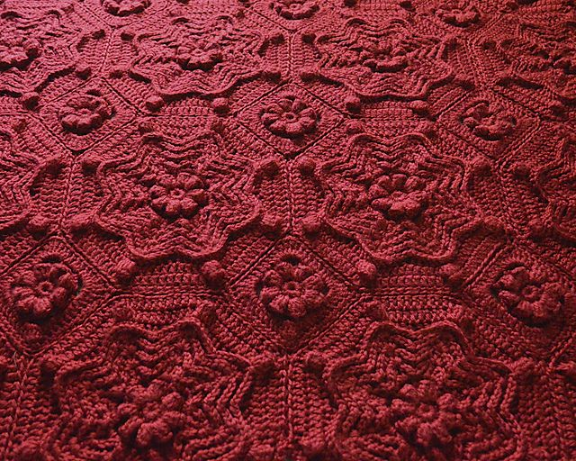 Orleans Matelass 233 Afghan Pattern By Priscilla Hewitt