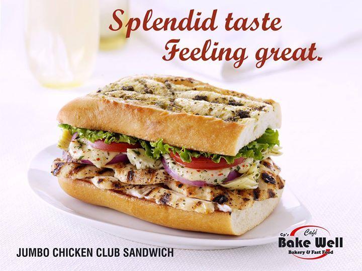 Try Bakewell's Chicken Club Sandwich. - http://ift.tt/1HQJd81