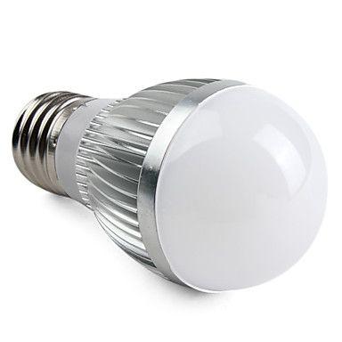 E27 6W 550-650LM 3000-3500K LED-globlampa med Varmt Vitt Ljus (220V) – SEK Kr. 69