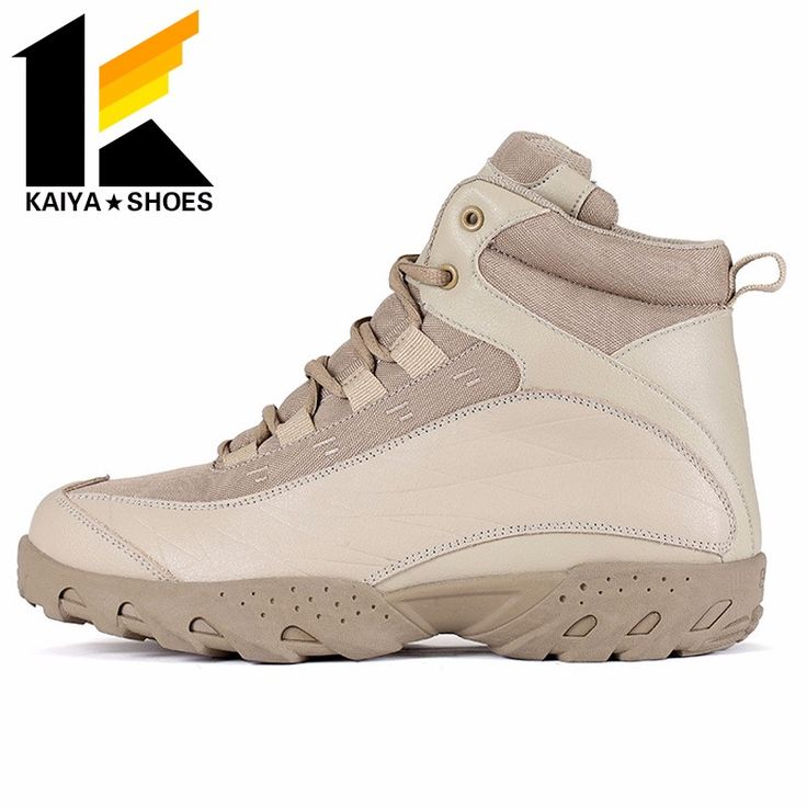 South America army prefer sand resistant tan suede leather military desert boots