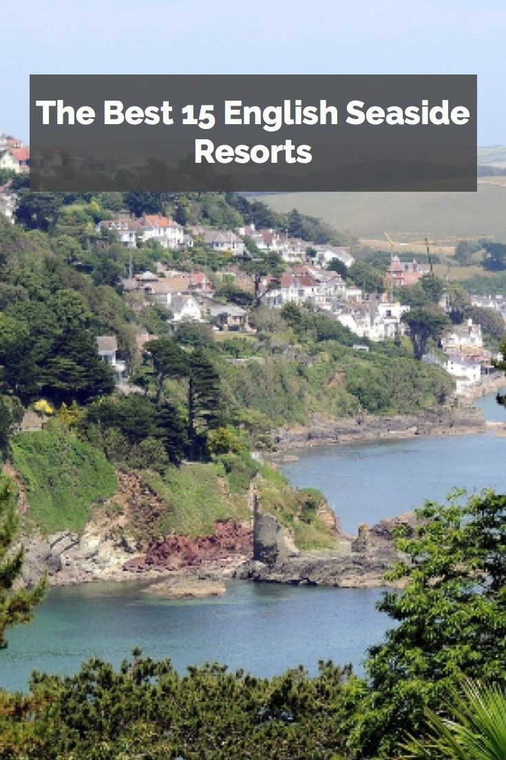 Salcombe is just one of the many beautiful seaside resorts in England.