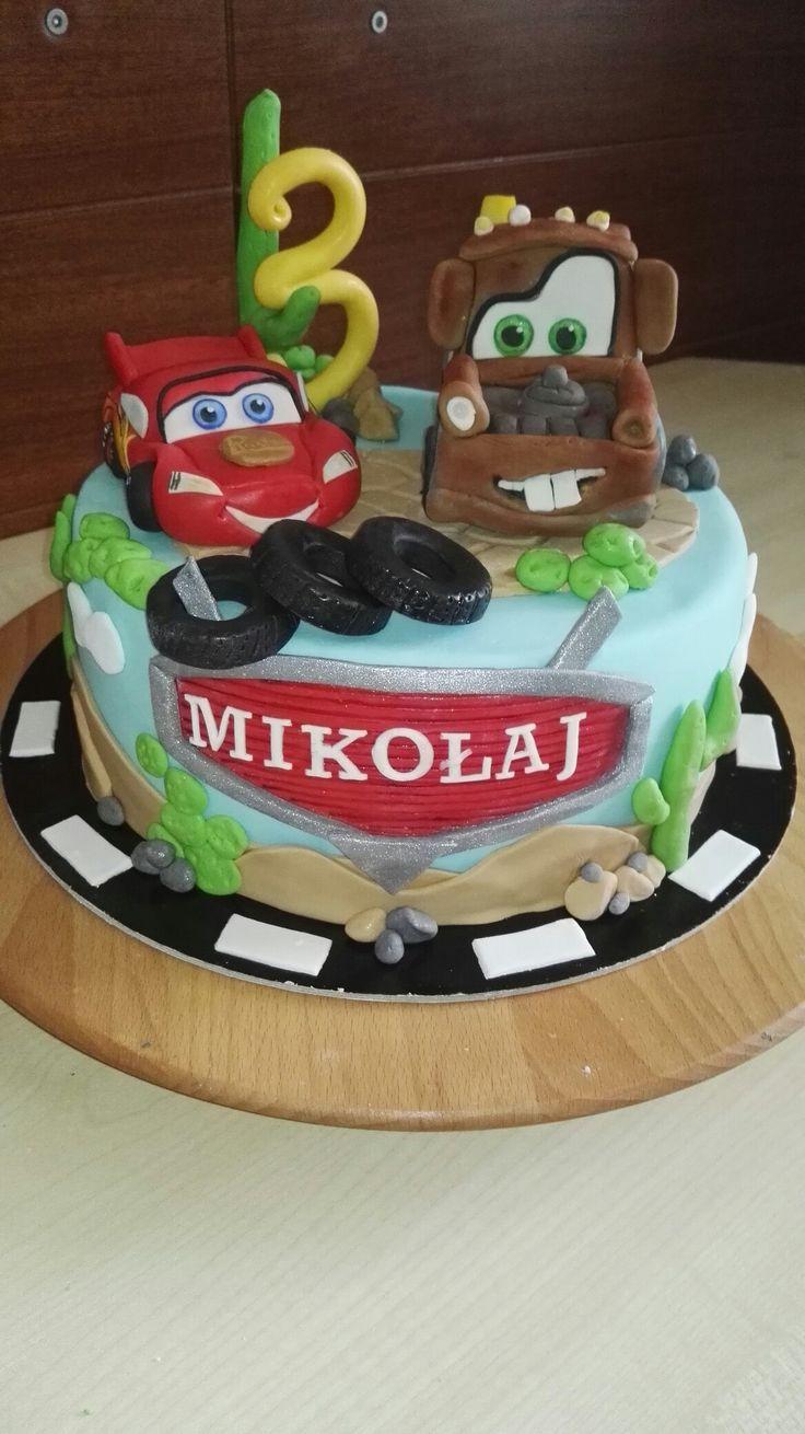 Zygzak i Zlomek - McQueen and Mater cake