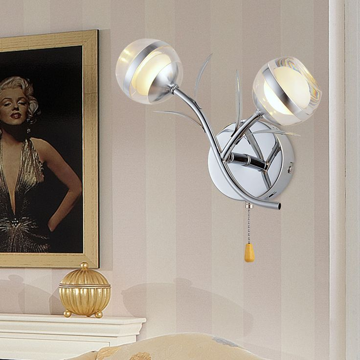 Humphrey Simple Modern Led Crystal Decorative Lamp Study Bedroom Living Room  Restaurant Creative Lighting Part 79