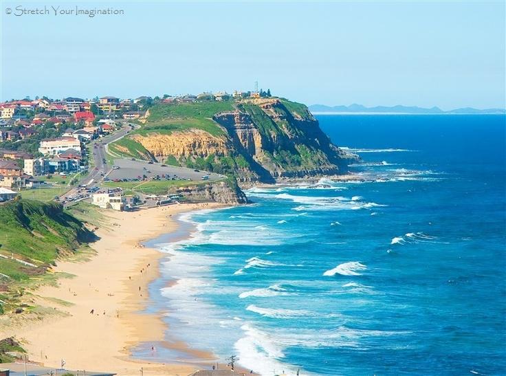 can't believe i was just here!!!!  Newcastle Bar beach Australia