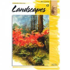 Leonardo Collection Desen Kitabı #15 Landscapes