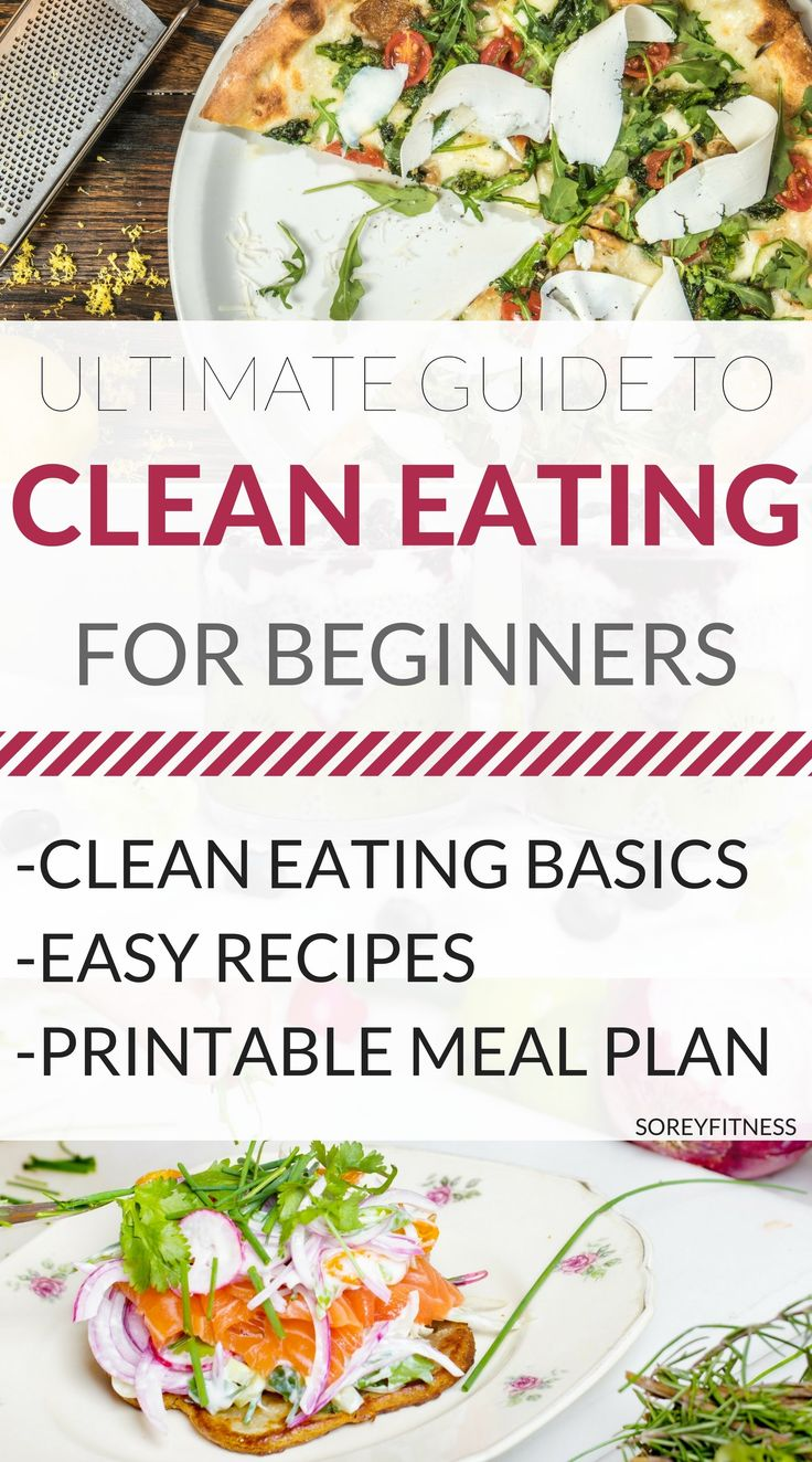 Clean Eating for Beginners - Printable Eat Clean Meal Plan - Clean Eating Recipes - Tosca Reno Eat Clean Diet - Food Lists - Eating Clean on a Budget - Reading Food Labels - Clean Eating for Weight Loss - Weight Loss Meal Plan - #CleanEating #CleanEatingRecipes #CleanEatingMealPlan #WeightLoss #EatClean