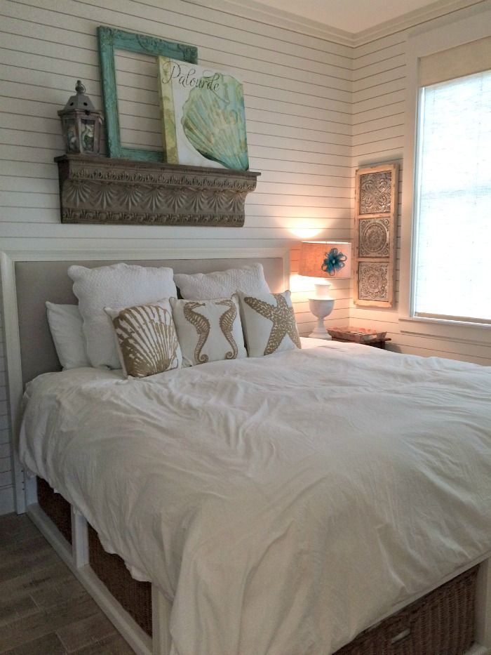 Gorgeous Cinnamon Shores Port Aransas Condo Rental -  Penney Lane (PS Pillows can be found here - http://www.caronsbeachhouse.com/beach-twin-seahorses-embroidered-pillow/
