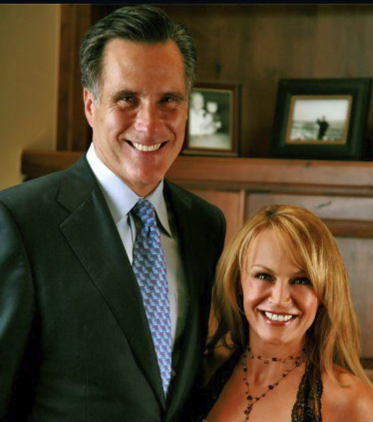 Stephany Alexander with United States Presidential Candidate Mit Romney.