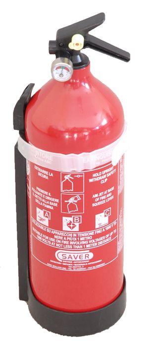 Estintire a polvere - 2kg - Saver S.R.L. #estintori #estintore #estintoreapolvere #saver