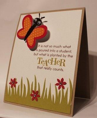 10 best Teachersu0027 gifts images on Pinterest Teacher appreciation - thank you notes for teachers