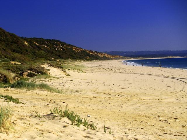 Praia Fonte da Telha is a great choice to enjoy the Portuguese sea and food!