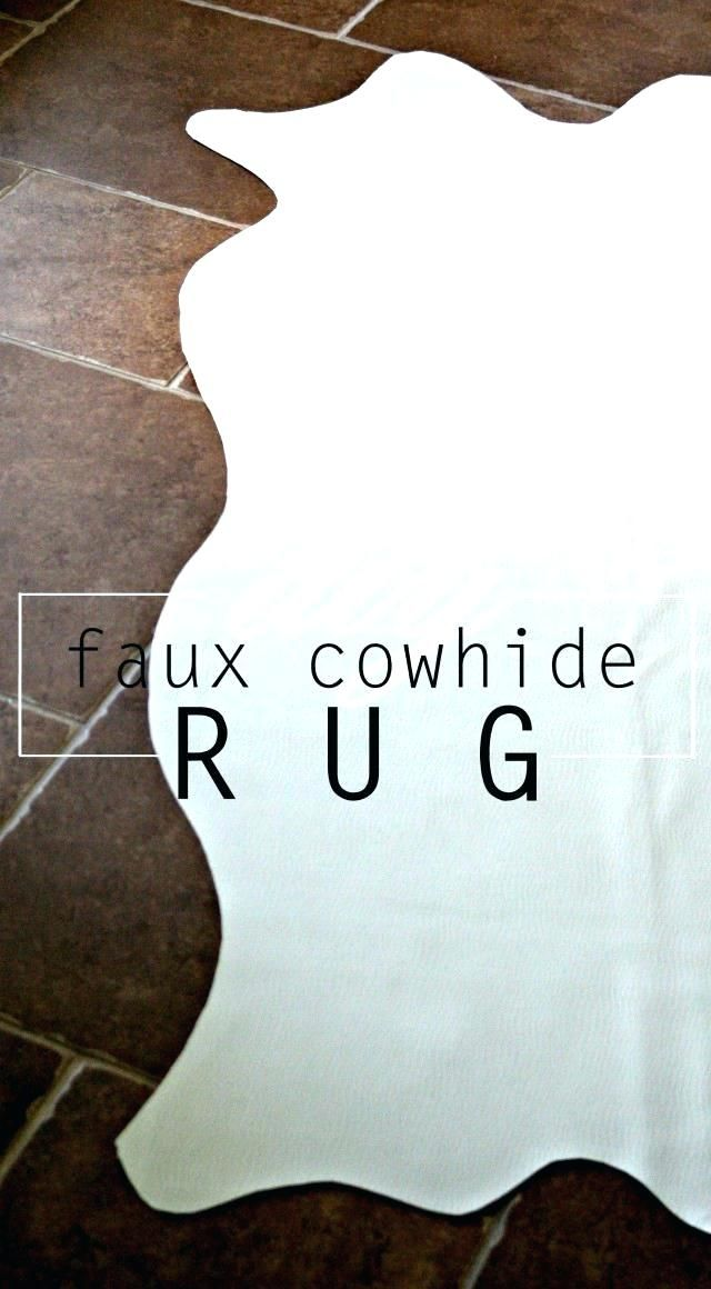 Unique Faux Cow Rug Figures Amazing Faux Cow Rug For Fake Cowhide