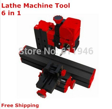 471.00$  Buy here - http://alixez.worldwells.pw/go.php?t=32661582160 - On sale!! DIY 5set Mini Lathe Machine 6 in 1, DIY Mini Micro Lathe Machine Tool 6 in 1, For Wood and Soft Metal 471.00$