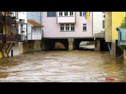 High water in Klein-Venedig - Bad Kreuznach - Germany
