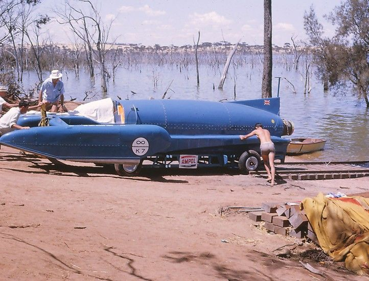 Donald Campbell and his Bluebird | One Man, His Dream, Our Lake