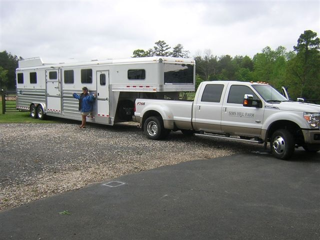 Congratulations to Sims Hill Farm in Waxhaw, NC, represented by Jennifer, Sims Hill Farm Manager, on the purchase of their new 4-Star 6H Head to Head from LA Trailer Sales, LLC!! 800.350-0358: Pickup Trucks, La Trailers, Trailers Sales, 6H Head, Custom Photo, Hill Farms, 4 Stars 6H, Sims Hill, Farms Management