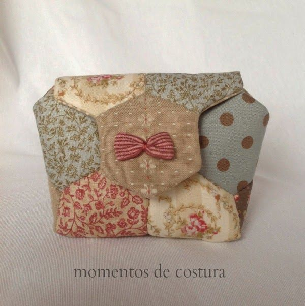 Moments Sewing: Tutorial hexagons small bag