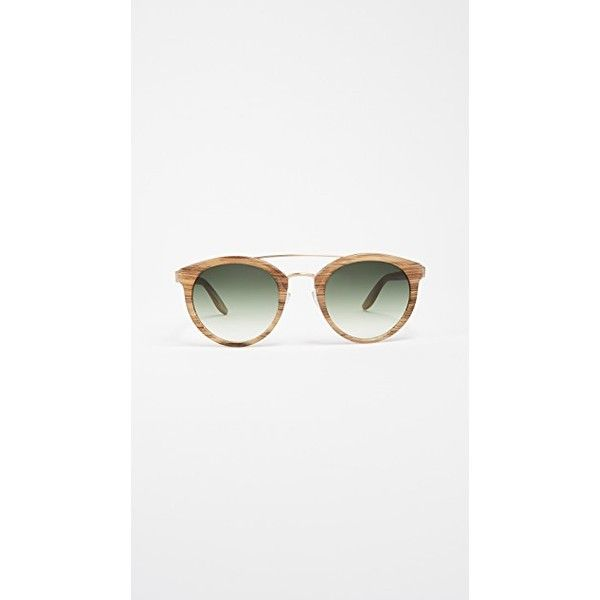 Barton Perreira Dalziel Sunglasses (32,675 INR) ❤ liked on Polyvore featuring accessories, eyewear, sunglasses, barton perreira eyewear, barton perreira glasses, barton perreira sunglasses, polarized lens sunglasses and round frame sunglasses
