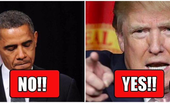 POLL: Should Trump's DoJ Investigate Obama's Wire Tapping And Slush Fund?