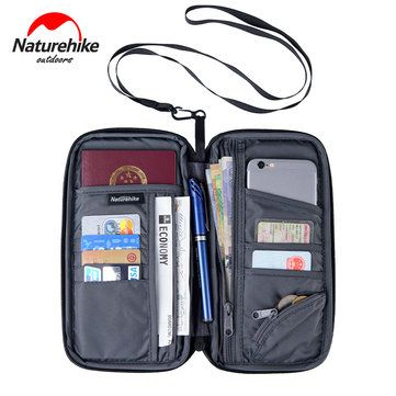 Only US$7.99, buy best Naturehike Travel Passport Card Bag Ticket Cash Wallet Pouch Holder For iphone sale online store at wholesale price.US/EU warehouse.