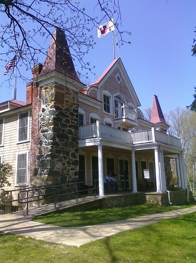 Clara Barton Home - National Historic Site: Clara Barton Home - Glen Echo, Maryland