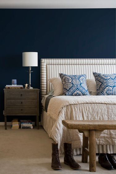 This Color Blue For My (before Kids) Living Room. With