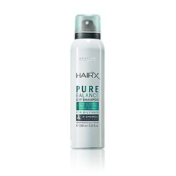 HairX Pure Balance Dry Shampoo - supersnabb uppfräschning för håret innan träningen eller när du helt enkelt inte har tid att tvätta håret. Har räddat mig många gånger!