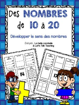 This is a great activity booklet to help develop number sense with the numbers…