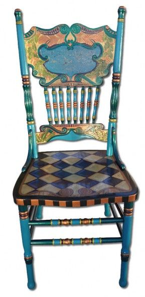 Wonderful Chairs | One Offs Art U0026 One Of Designs   Custom Hand Painted Furniture By  Nancy