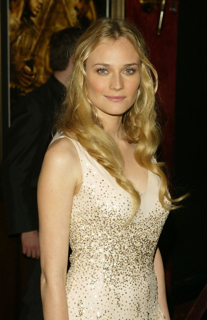 (U.S. TABLOIDS AND HOLLYWOOD REPORTER OUT)  Actress Diane Kruger attends the premiere of 'Troy' on May 10, 2004 in New York City.
