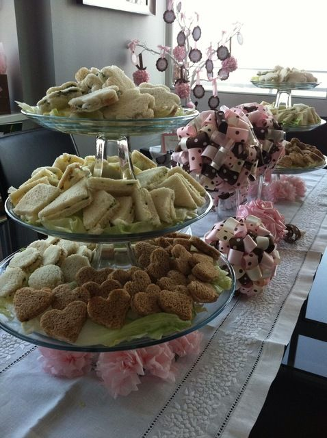 """Photo 6 of 24: high tea / Baby Shower/Sip & See """"It's A Girl!"""" 