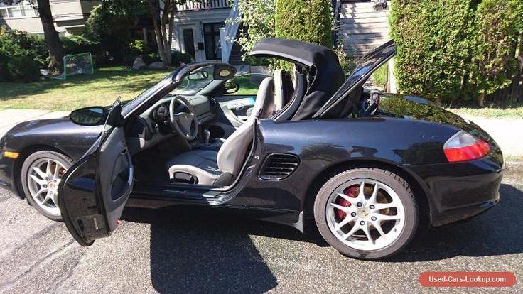 Porsche: Boxster Roadster Convertible #porsche #boxster #forsale #canada