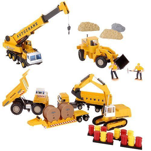 Toys Are Us Construction Toys : Fast lane super construction playset toys r us exclusive