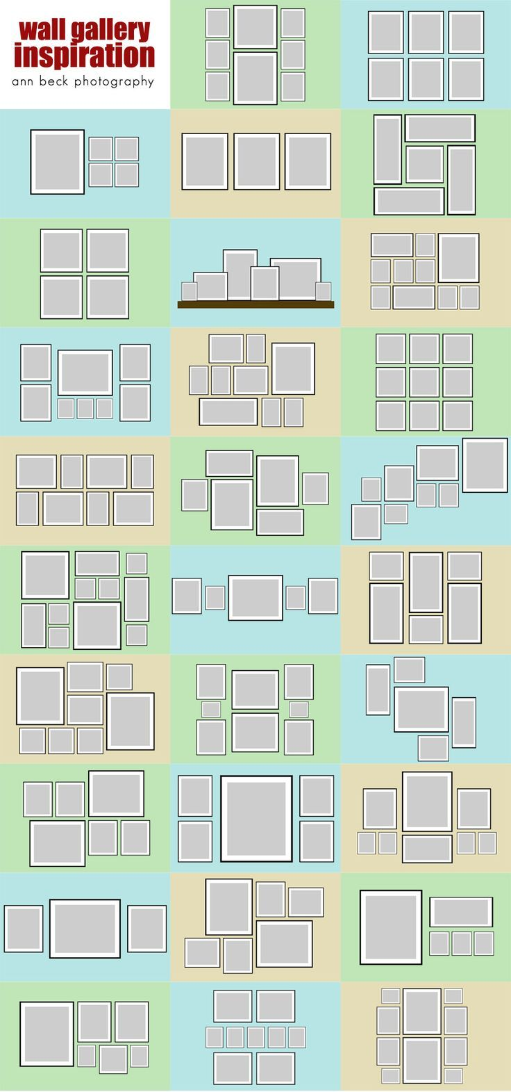 16 best frame arrangements images on pinterest home ideas wall paint letterswords as normal then cut out along the configuration of your choice jeuxipadfo Gallery
