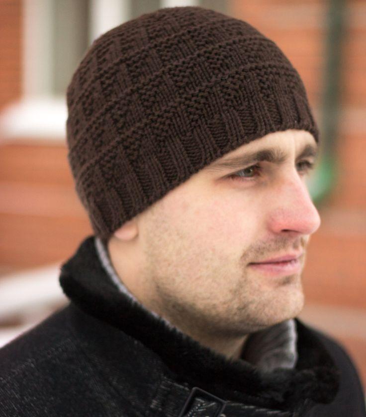 Knit skull cap, Mens knit hat, Merino wool hat, Knit adult hat, Unisex winter hat, Birthday gift for him, Free shipping by MarooSocks on Etsy
