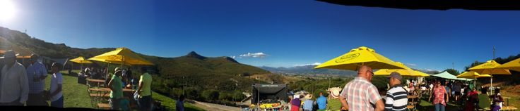The Airborne Anniversary Concert at the Liquifruit Amphitheater in Paarl