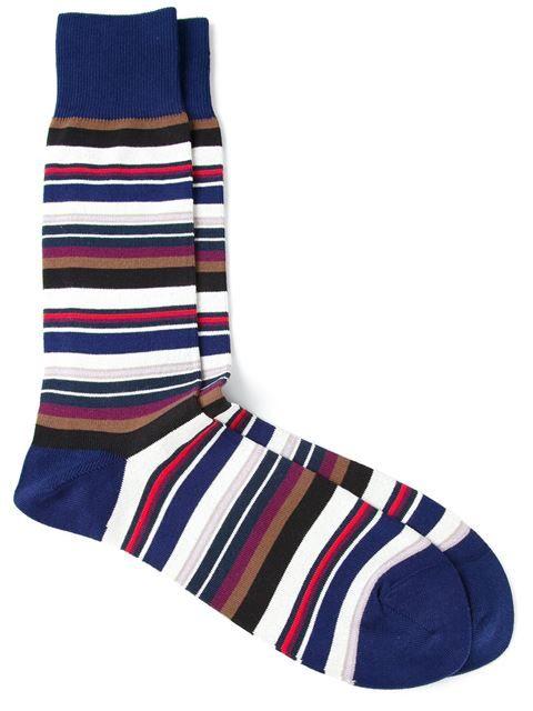 Paul Smith Striped Socks - Tiziana Fausti - Farfetch.com