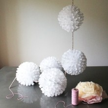 Flutterball Floral Garland