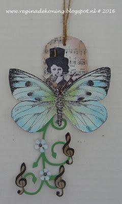 Regina's Artfun: Fladder muziek