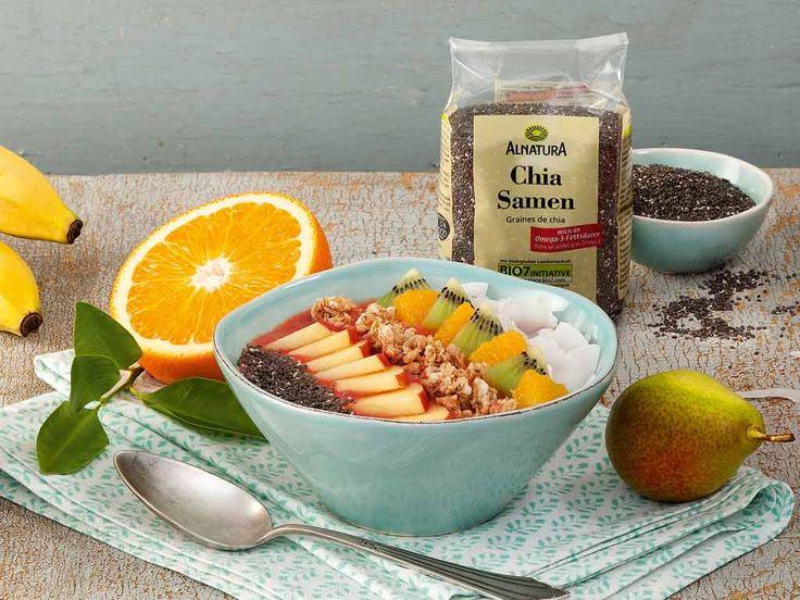 #Alnatura-Rezept: Frühstücks-Smoothie #Bowl