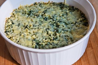 Recipe for Spinach and Feta Casserole with Brown Rice and Parmesan ...