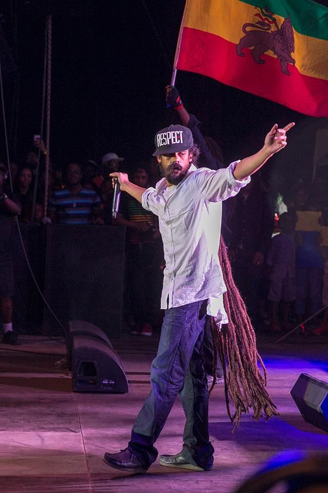 Damian Marley in Downtown Jamaica