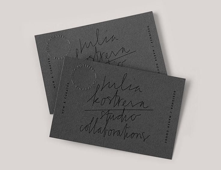 159 best business cards images on pinterest lipsense business julia kostreva studio 2015 business cards with blind emboss and laid paper details colourmoves